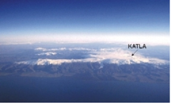 Webcam image map of Katla volcano