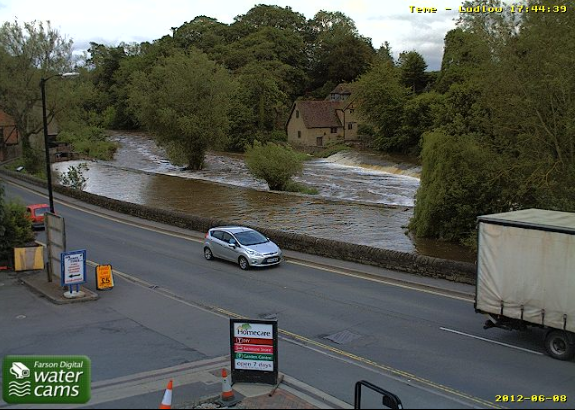 River Teme webcam