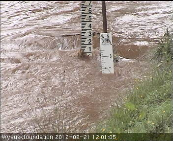 River Monnow webcam